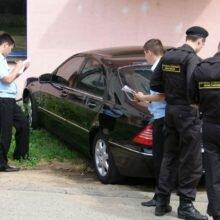 Проверка машины на аресты и ограничения