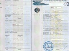 Паспорт транспортного средства — что это такое